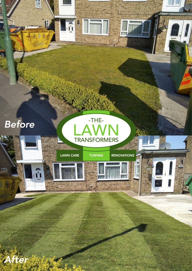 Front-Lawn-returf-Turfing-Bearsted-Maidstone-Kent-ME14-ME15-ME16