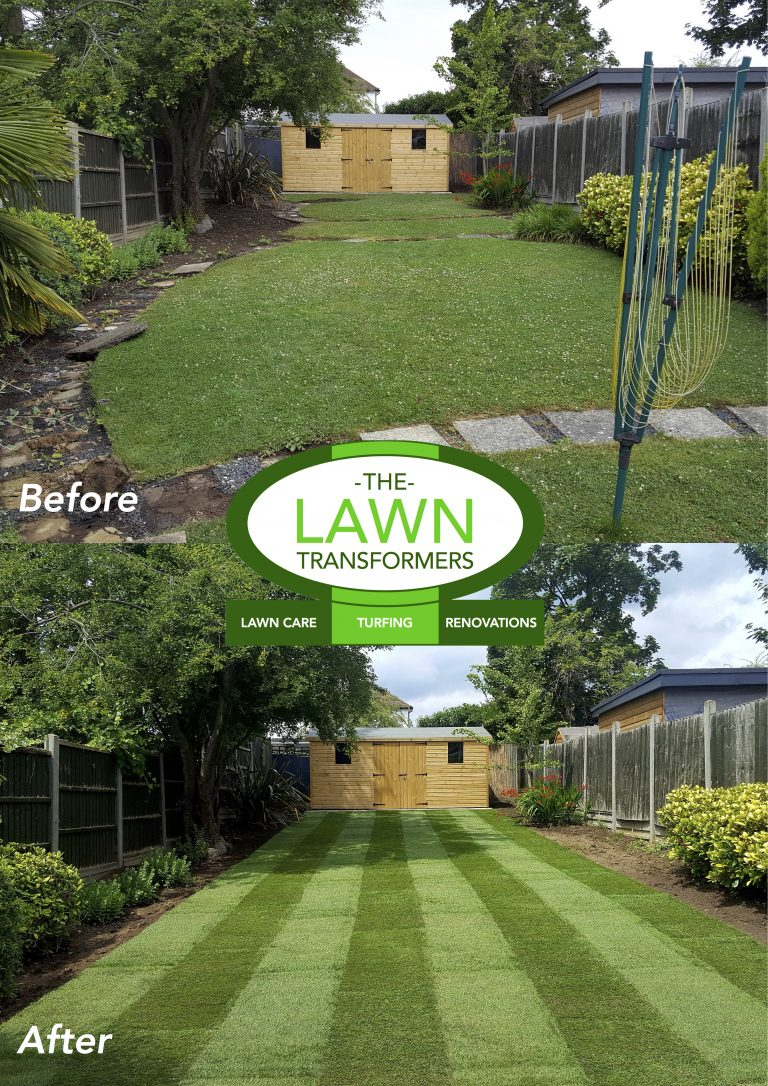 Replacement-lawn-turfing-Eltham-SE9